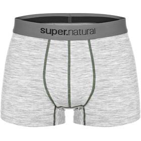 super.natural Base Mid Boxer 175 Undertøj Herrer grå